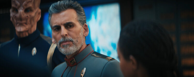 Oded Fehr Screencaps – Star Trek DSC 3.09 Terra Firma, Part 1 Screencaps